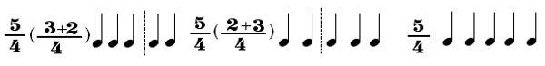میزان در موسیقی میزان لنگ