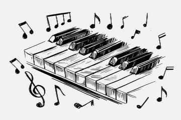 نحوه صدادهی پیانو