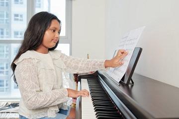 تمرین و تکرار یادگیری پیانو