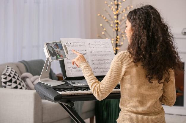 تمرین ساز در خانه