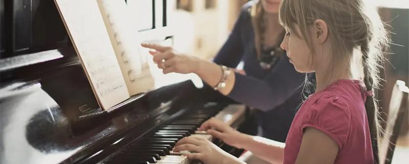شروع نواختن پیانو