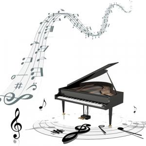 نحوه ایجاد صدای پیانو