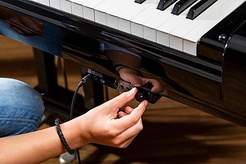 عملکرد سیستم سایلنت در پیانو