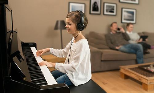 دلیل استفاده از پیانو سایلنت