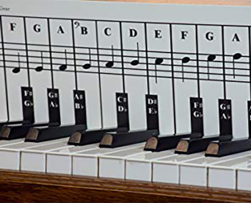 آشنایی با کیبورد پیانو